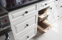 Custom Country Kitchen Bread Drawer