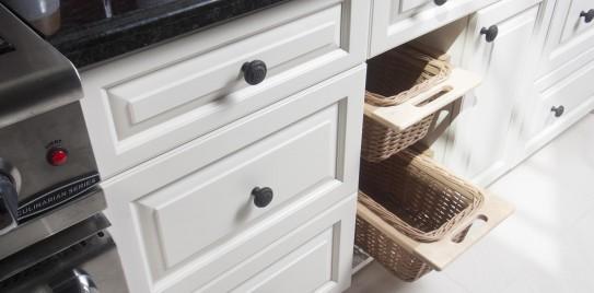 Custom Country Kitchen Bread Drawer